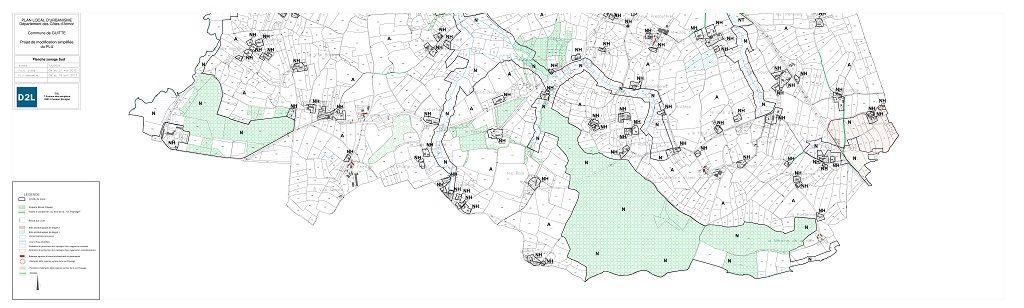 plan sud guitté