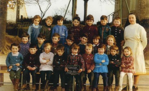 photo de classe de 1970 / 1971 Guitté